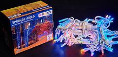 Фото Delux Icicle 108 LED 2x1 м белый/мульти IP44 (90012949)