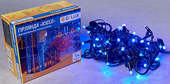 Фото Delux Icicle 75 LED 2x0.7 м черный/синий IP44 (90012958)