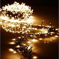 Фото Delux String 100 LED 2x 5 м белый/мульти IP44 (90012974)
