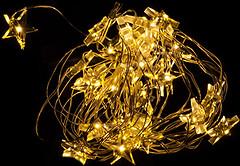 Фото Luca Lighting Желтые звездочки 3.2 м (8712799936614)