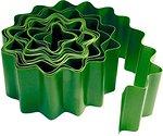 Фото Palisad бордюрная лента 9 м x 15 см, зеленый (64481)