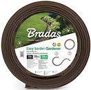Фото Bradas набор с колышками 10 м x 38 см, коричневый (OBEBR3810SET)