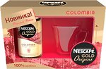 Фото Nescafe Gold Origins Colombia растворимый 100 г + чашка