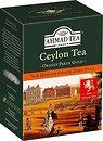 Фото Ahmad Tea Чай черный среднелистовой Цейлон Оранж Пеко Голд (картонная коробка) 200 г