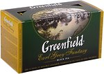 Фото Greenfield Чай черный пакетированный Earl Grey Fantasy (картонная коробка) 25x2 г