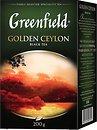 Фото Greenfield Чай черный крупнолистовой Golden Ceylon (картонная коробка) 200 г