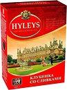 Фото Hyleys Чай черный крупнолистовой Клубника со сливками (картонная коробка) 100 г