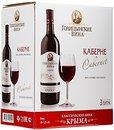 Фото Голицынские вина Каберне красное сухое 3 л