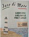 Фото Faro Di Mare Pinot Grigio Garganaga DOC белое сухое 3 л