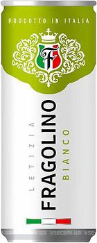 Letizia Fragolino Bianco белое полусладкое 0.33 л