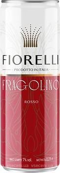 Fiorelli Fragolino Rosso красное сладкое 0.25 л