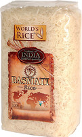 Фото World's Rice Basmati India 1 кг