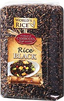 Фото World's Rice black 500 г