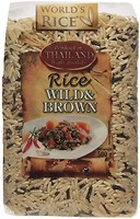 Фото World's Rice wild + brown 500 г