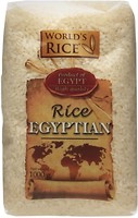 Фото World's Rice egyptian 1 кг