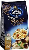 Фото Riso Scotti Risotto al Porcino с белыми грибами 210 г