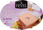 Фото Feyel мусс из утиной печени с Киршем Mousse de Canard au Kirsch 170 г