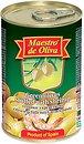 Фото Maestro de Oliva оливки зеленые с креветкой 300 г