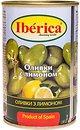 Фото Iberica оливки зеленые с лимоном 300 г