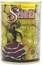 Фото Senorita оливки зеленые с косточкой 280 г