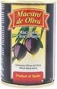 Фото Maestro de Oliva маслины черные с косточкой 280 г