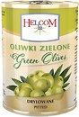 Фото Helcom оливки зеленые без косточки 280 г