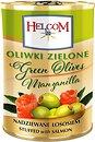 Фото Helcom оливки зеленые фаршированные лососем 280 г