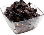 Фото Amalthia маслины черные вяленые с косточкой Kalamata Jumbo весовые