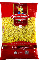Фото Pasta Zara Gramigna №26 500 г