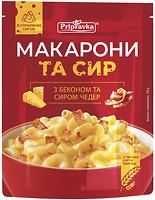 Фото Приправка Макароны с беконом и сыром Чеддер 150 г