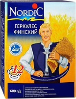 Фото NordiC хлопья Геркулес финский 600 г
