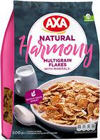 Фото АХА сухой завтрак Harmony мультизерновые хлопья обогащенные минералами 500 г