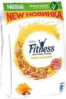 Фото Nestle сухой завтрак Fitness Мед и миндаль 400 г