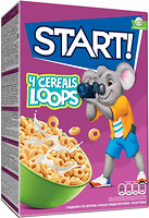 Фото Start сухой завтрак 4 Cereals Loops 75 г