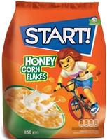 Фото Start сухой завтрак Honey Corn Flakes 850 г