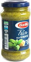 Фото Barilla соус Pesto alla Genovese со свежим базиликом и сыром пармезан 190 г