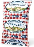 Фото Селянське Молоко ультрапастеризованное 3.2% 900 мл