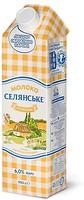 Фото Селянське молоко ультрапастеризованное Особенное 6% 950 мл