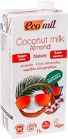 Фото Ecomil кокосово-миндальное без сахара Bio 1 л