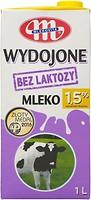 Фото Mlekovita молоко ультрапастеризованное безлактозное 1.5% 1 л