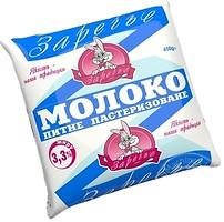 Фото Заречье молоко пастеризованное 3.3% 450 мл