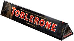 Фото Toblerone темный с медом и миндальной нугой 360 г