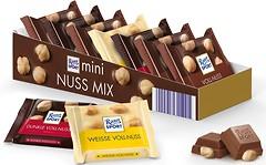 Фото Ritter Sport набор шоколада Мини-микс с цельным орехом 7x 16.67 г