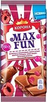 Фото Корона молочный Max Fun мармелад со вкусом вишни 150 г