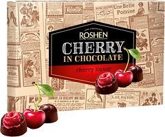 Фото Roshen Шоколадные конфеты Вишня с вишневым ликером 155 г