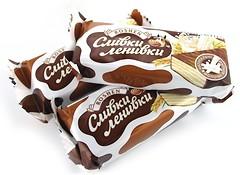 Фото Roshen Шоколадные конфеты Сливки-ленивки 1 кг