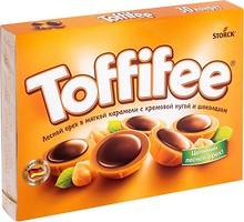 Фото Toffifee Карамельные конфеты с лесным орехом и шоколадом 250 г