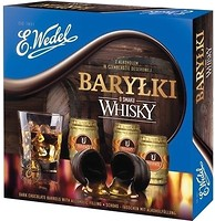 Фото E.Wedel Шоколадные бочечки с алкоголем Whisky 200 г