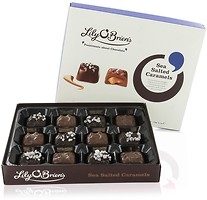 Фото Lily O'Brien's Sea Salted Caramel, Milk & Dark Chocolate Collection 175 г