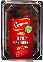 Фото Сладков торт Пинчер с вишней 200 г